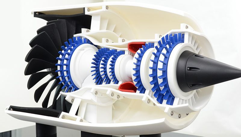 Additive Manufacturing Team 3D-Prints Working Jet Engine